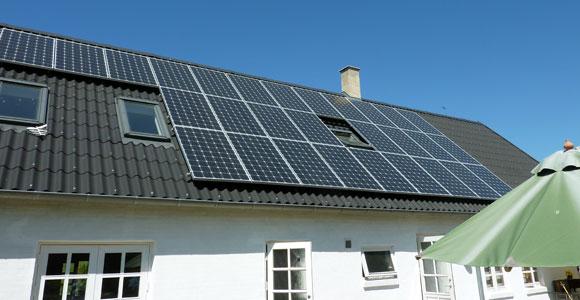 Solceller - Krogenbergvej 1, Kvistgård